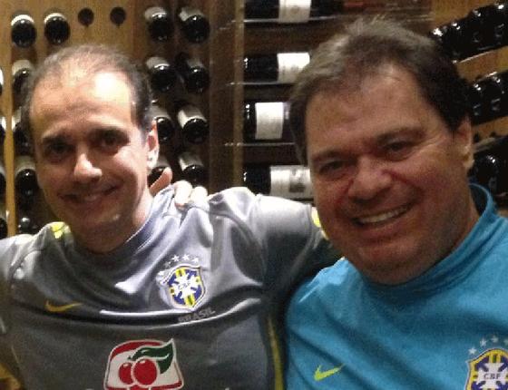 Lobista Milton Lyra (esq) e o ex-senador Gim Argello (dir): atualmente os dois estão presos (Foto: Reprodução)