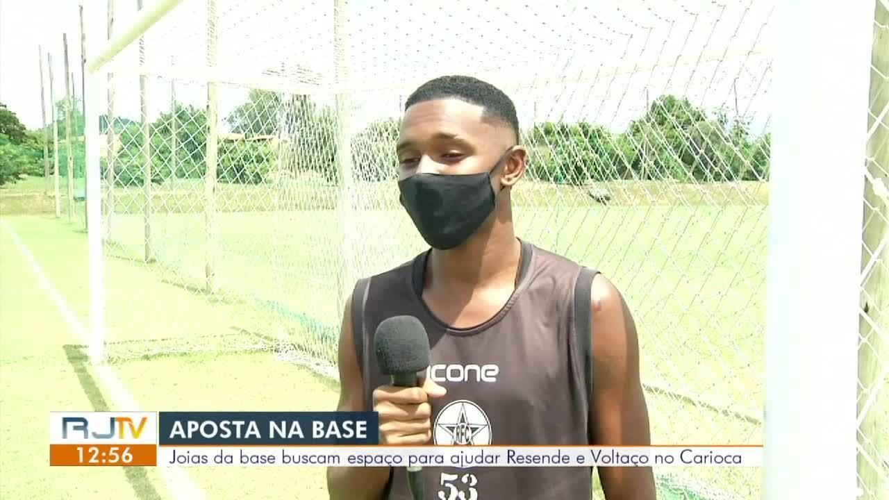 Resende e Voltaço apostam nas promessas de base para o Carioca