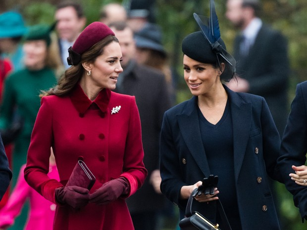 Kate Middleton e Meghan Markle (Foto: Getty Images)