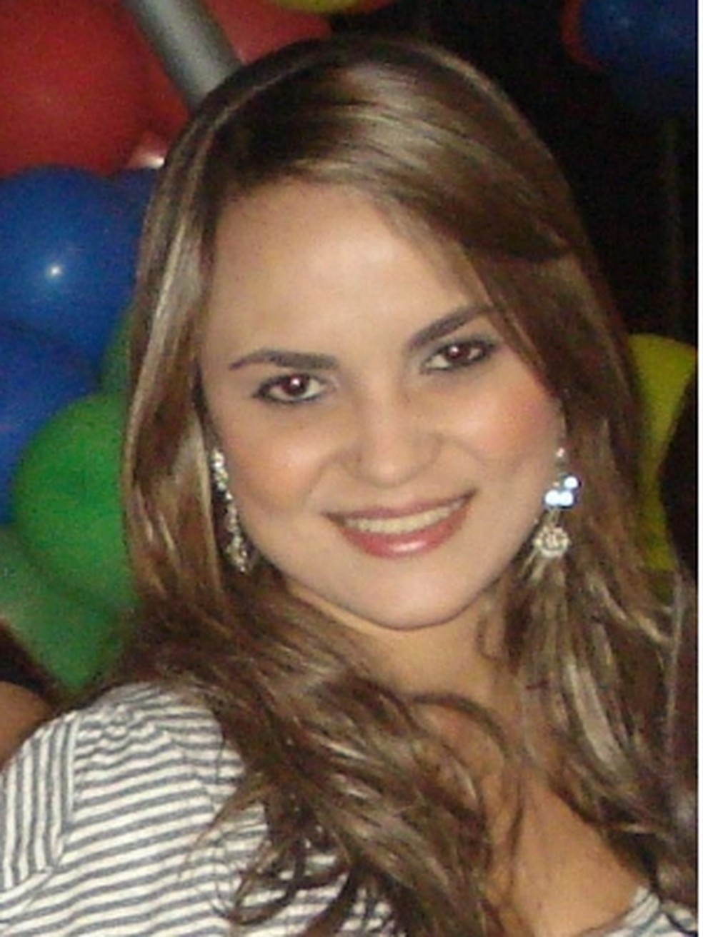Ciclista foi morta com um tiro na cabeça, em Goiás (Foto: Reprodução/Facebook)