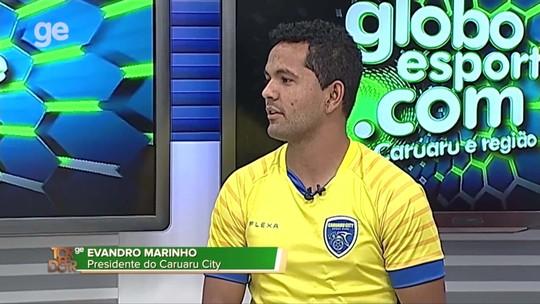 """Conheça mais sobre o Caruaru City, o """"Clube do Caruaruense"""", no Torcedor GE"""