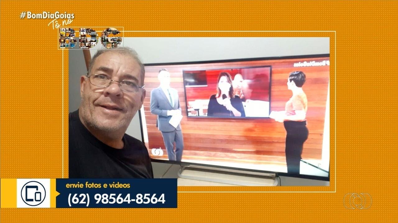 Telespectadores enviam fotos para o Bom Dia Goiás