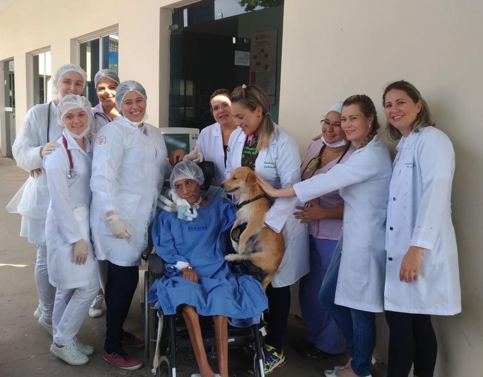 Equipe Multi-T foi criada no HGR para pensar em alternativas diferenciadas de tratamentos que pudessem garantir qualidade de vida aos pacientes (Foto: Carolina Cardoso/Arquivo pessoal)