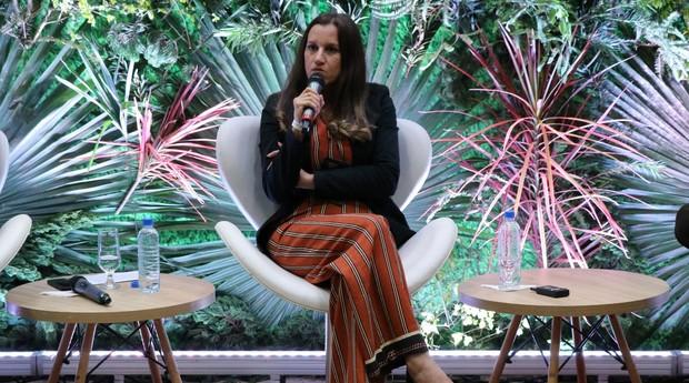 Dani Lucia Xavier, secretária de Santa Rita do Sapucaí: cidade-ecossistema (Foto: Hans Hackspacher)