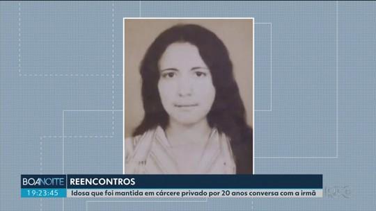 Idosa mantida em cárcere privado por mais de 20 anos reencontra a irmã