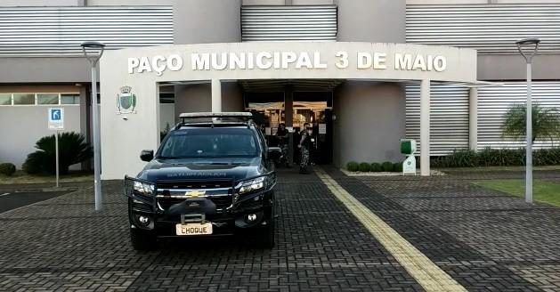 Gaeco faz operação em cidades do oeste do Paraná e mira esquema de fraude em licitações em Santa Terezinha de Itaipu