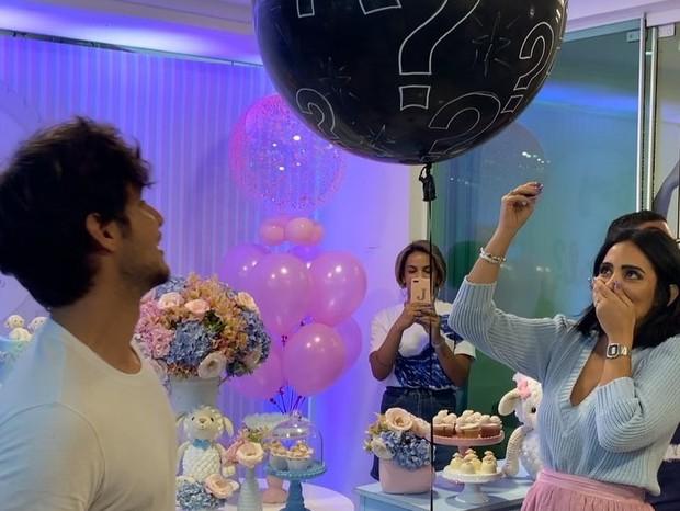 Jade Seba e Bruno Guedes descobrem sexo do primeiro filho (Foto: Reprodução/Instagram)