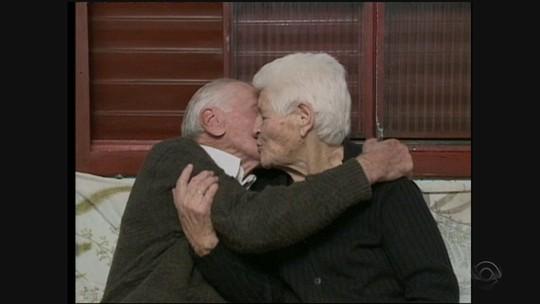 Casal de SC completa 70 anos de união: 'segredo é a gente se amar'