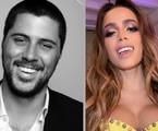 Michael Chetrit e Anitta | Reprodução/Linkedin e Instagram