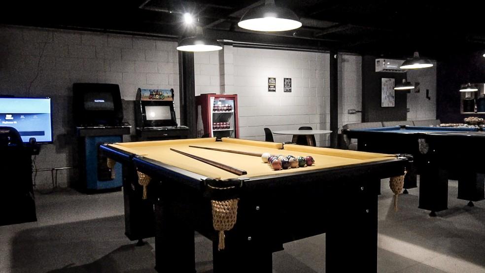 Game Room com fliperamas e videogames é uma das atrações do Espaço Connect (Foto: New Way/Divulgação)