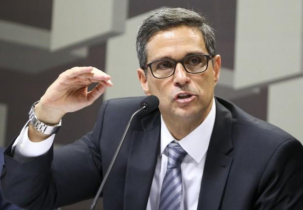 Roberto de Oliveira Campos Neto, indicado pelo governo para a presidência do Banco Central (BC) (Foto: Marcelo Camargo/Agência Brasil)