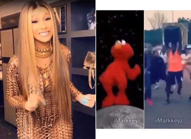 Web faz remix de vídeo viral de Cardi B falando ...
