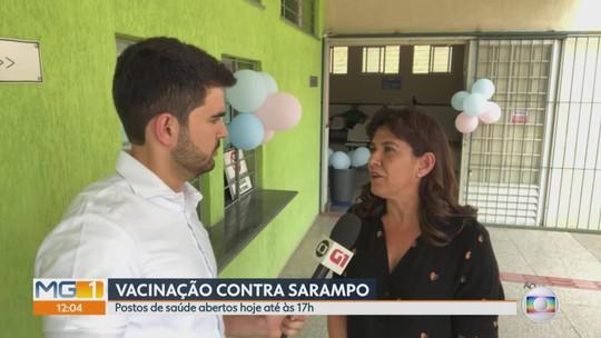 Belo Horizonte tem 'Dia D' de vacinação contra sarampo