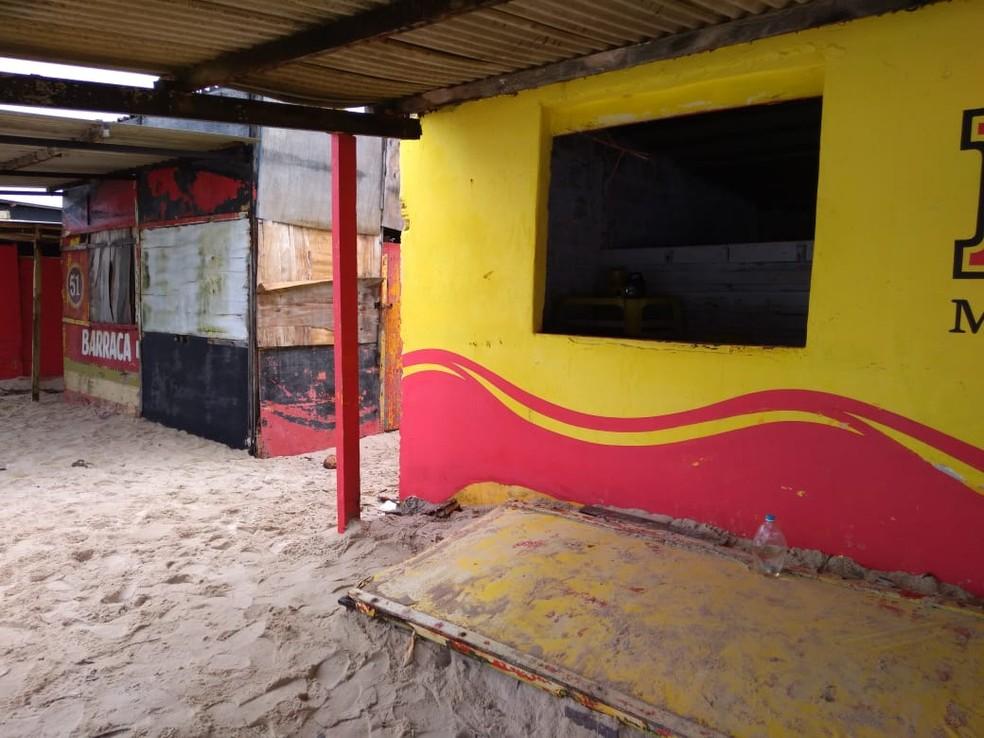 Praia da Redinha está localizada no bairro de mesmo nome, na Zona Norte de Natal — Foto: Geraldo Jerônimo/Inter TV Cabugi