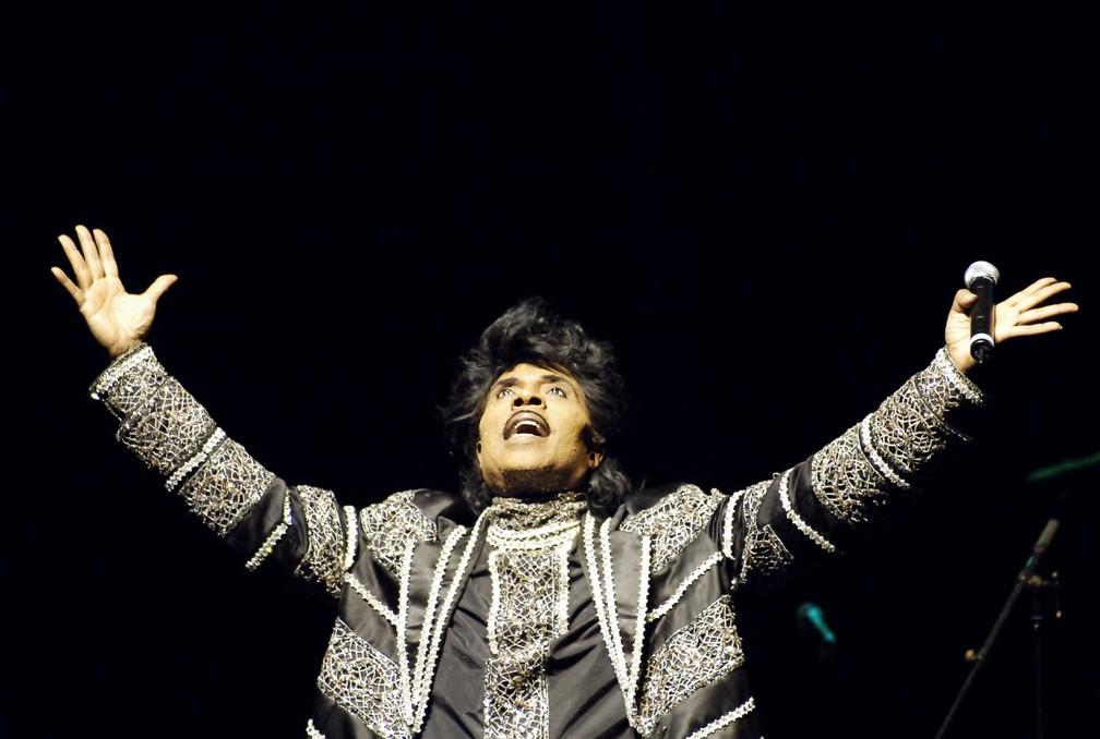 Little Richard, em foto de junho de 2005 — Foto: Stephane de Sakutin/ AFP/Arquivo