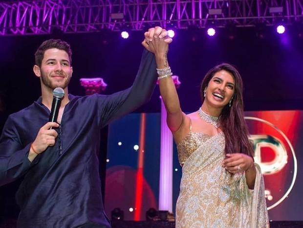 Nick Jonas e Priyaka Chopra (Foto: Instagram/Reprodução)