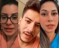 Aricia Silva nega ser pivô de fim de união de Arthur Aguiar e Mayra Cardi