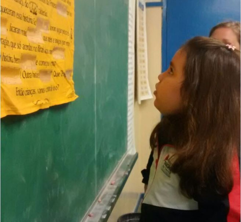 Giovanna Bonfim tem autismo e estuda em uma escola estadual de São Paulo — Foto: Arquivo pessoal