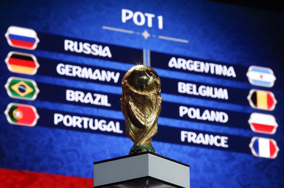 Simulação na Fifa mostra os cabeças-de-chave da Copa (Foto: REUTERS/Maxim Shemetov)