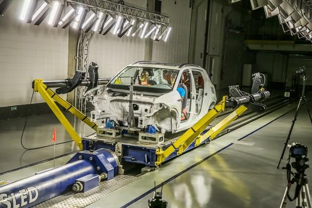 Segurança VW (Foto: Divulgação)