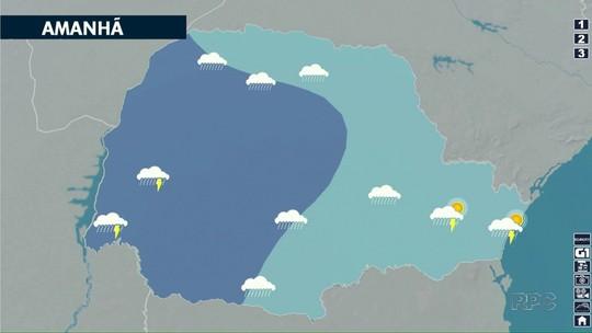 Domingo (21) será chuvoso no Paraná