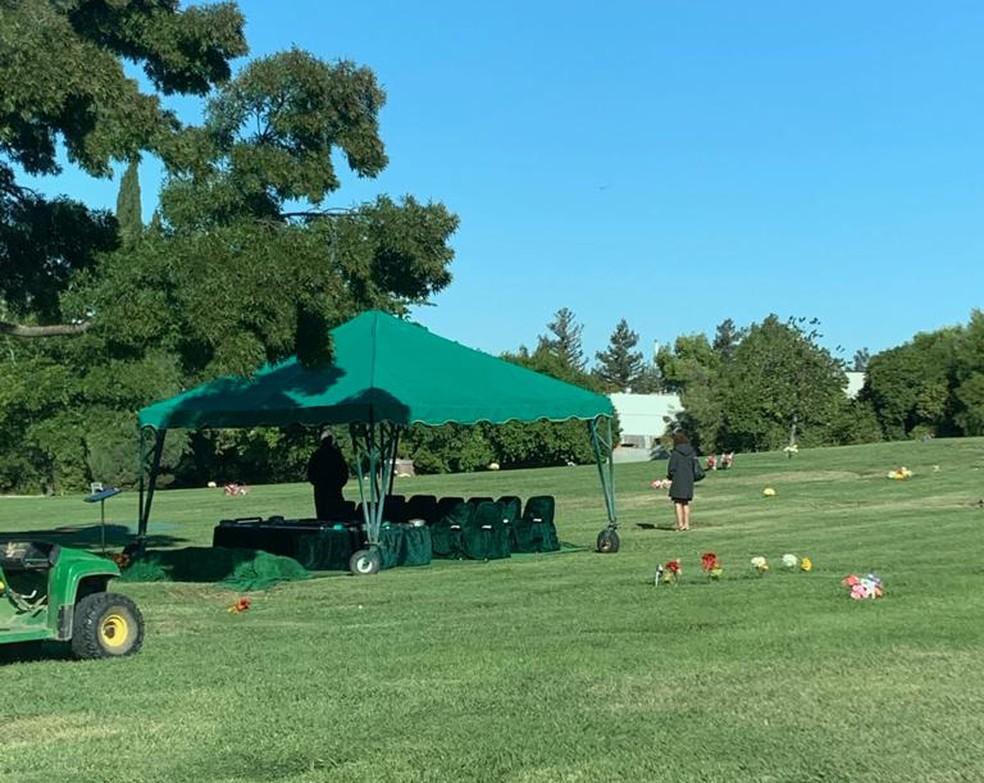 Tony foi enterrado no cemitério Memory Gardens, na cidade de Concord, na Califórnia. — Foto: Arquivo Pessoal