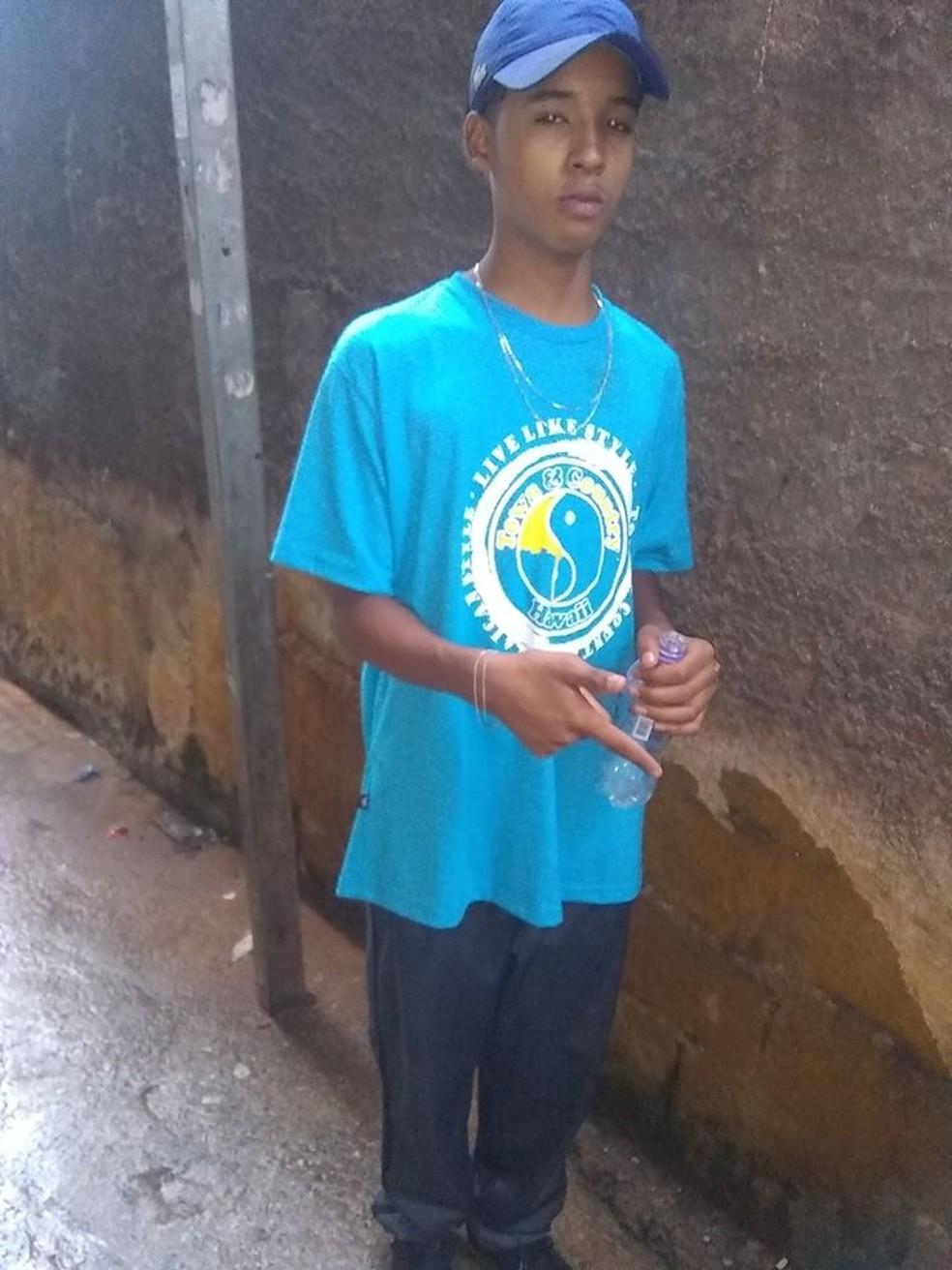 Gustavo Cruz Xavier, 14 anos, é uma das vítimas da ação da PM em Paraisópolis — Foto: Arquivo Pessoal/Redes sociais