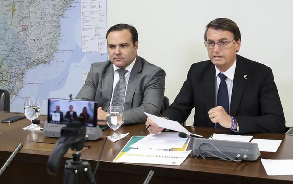 Jorge Oliveira atualmente é ministro da Secretaria-Geral da Presidência do governo de Jair Bolsonaro — Foto: Marcos Corrêa/PR