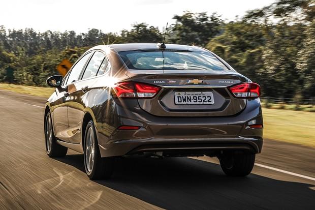 Novo Chevrolet Cruze 2020 estreia versão Premier com wi-fi embarcado e frenagem autônoma que detecta pedestres (Foto: Rafael Munhoz/Autoesporte)