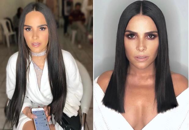 Wanessa Camargo antes e depois (Foto: Reprodução/Instagram)