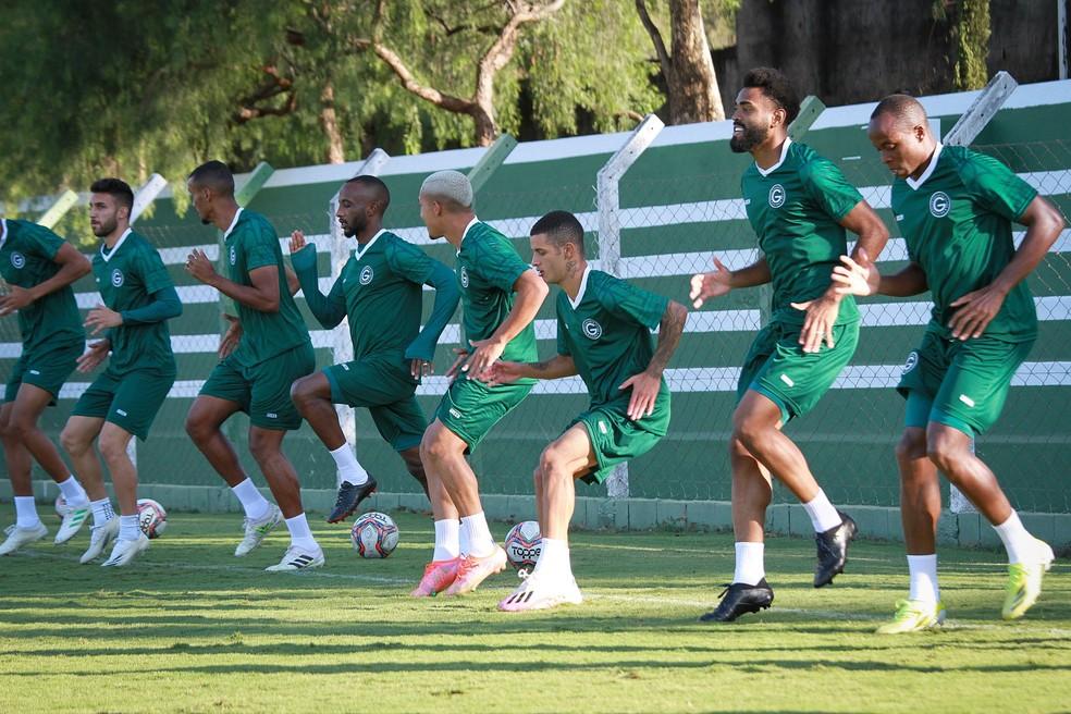 Goiás volta a campo nesta sexta contra o Náutico — Foto: Rosiron Rodrigues / Goiás E.C.