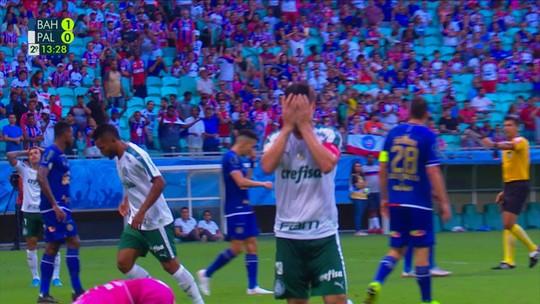 Análise: contra o Palmeiras, Bahia começa bem, mas volta a cair de rendimento na segunda etapa