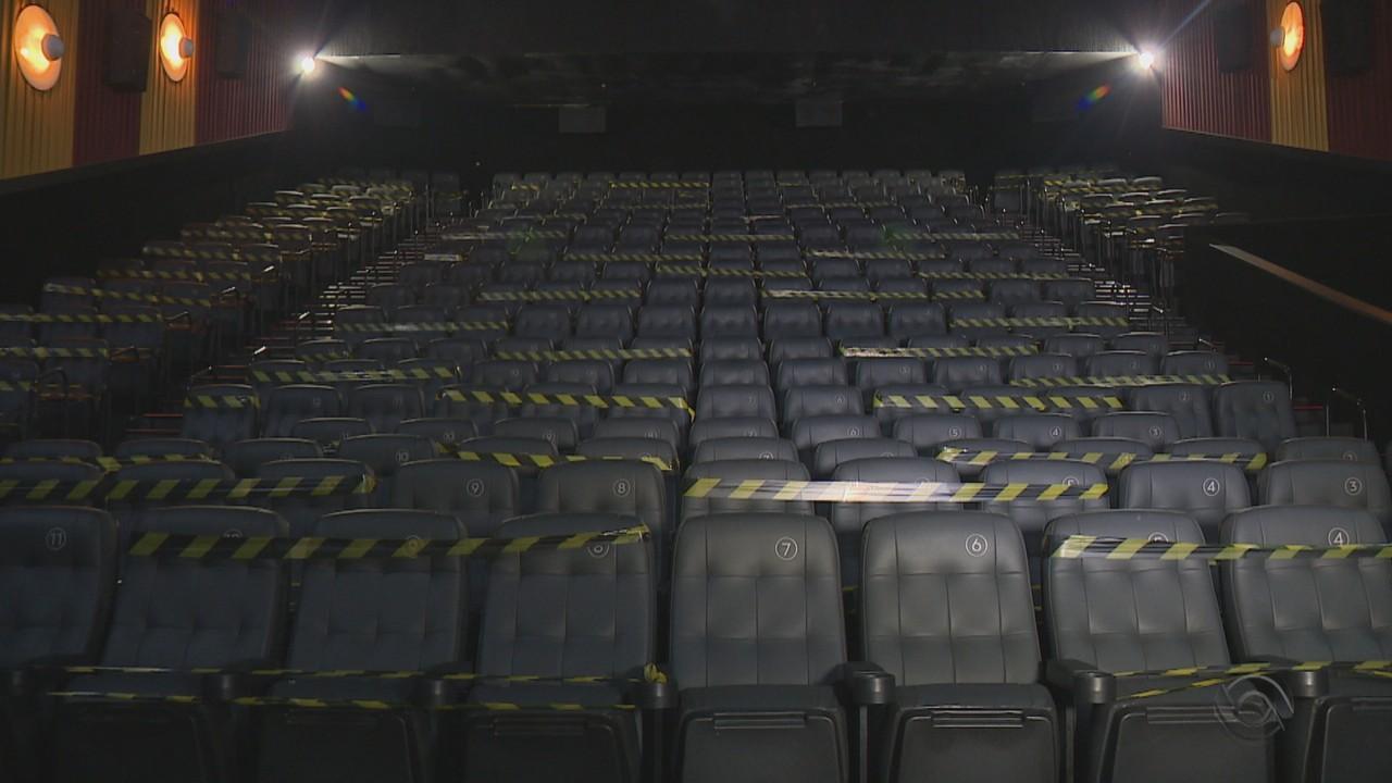 Salas de cinema reabrem em Porto Alegre