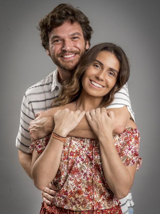 Emílio Dantas e Giovanna Antonelli (Foto: Divulgação/TV Globo)
