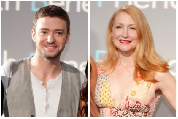 Justin Timberlake e Patricia Clarkson (Foto: Getty Images)