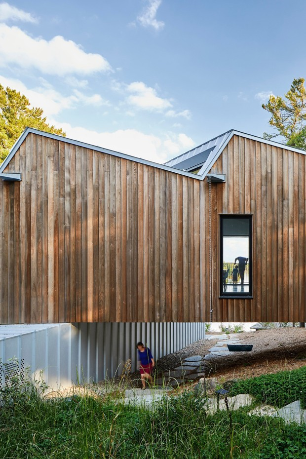 Quando o telhado é a estrela da casa (Foto: Doublespace Photography)