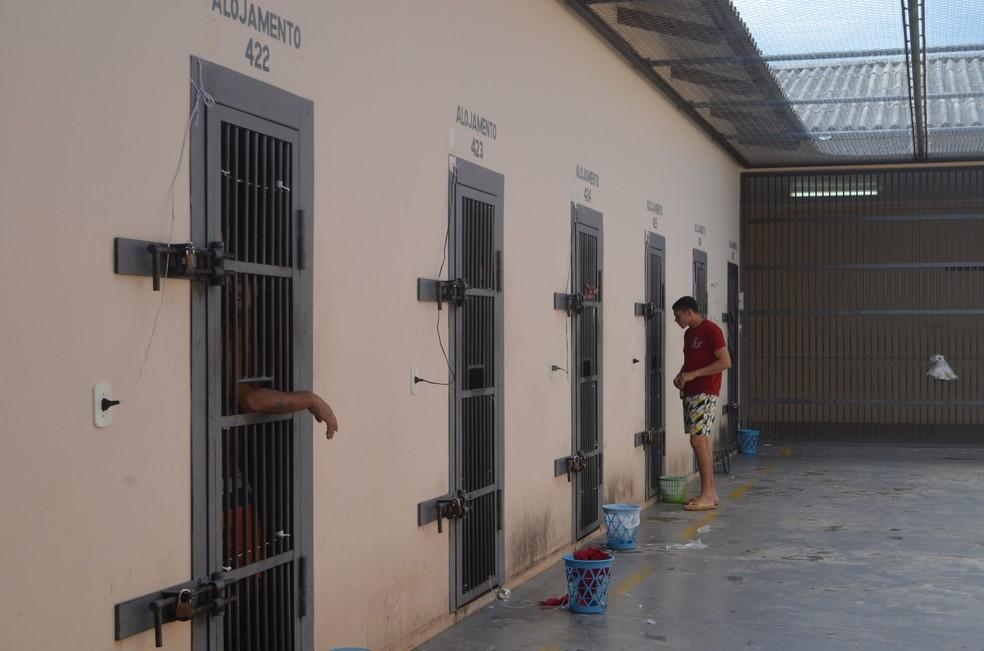 Tempo de visita íntima em presídios do Acre reduz de 8h para 3h e passa a ser a cada 15 dias  — Foto: Tácita Muniz/G1