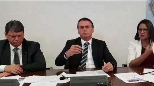 Jair Bolsonaro volta a defender indicação do filho para embaixada dos EUA