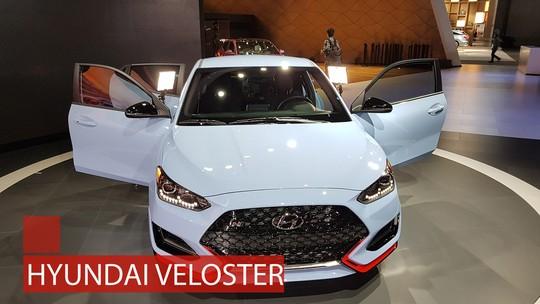 Hyundai Veloster adota novos motores e mantém a 3ª porta