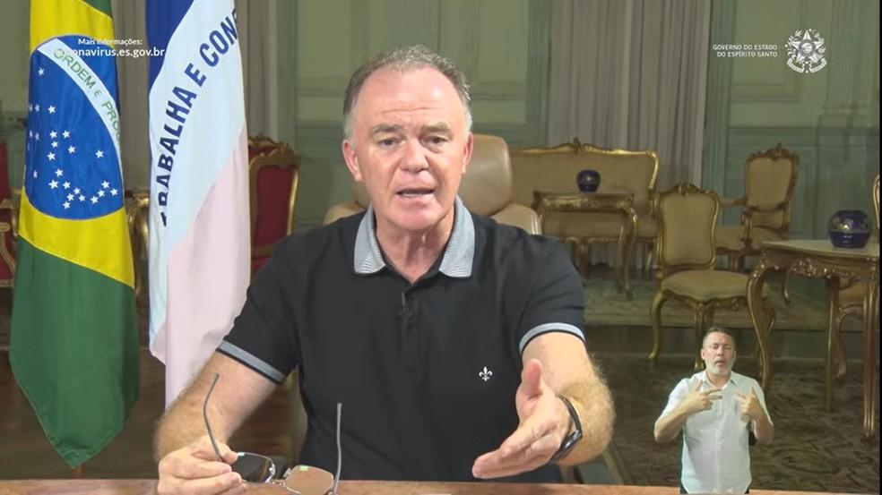 O governador do Espírito Santo, Renato Casagrande (PSB) — Foto: Reprodução/Redes sociais