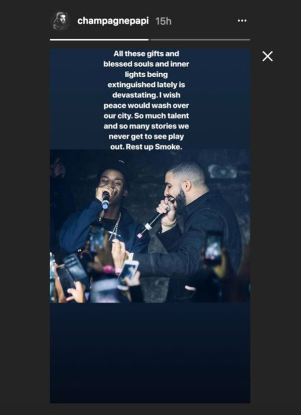 Smoke Dawg e Drake (Foto: Instagram)