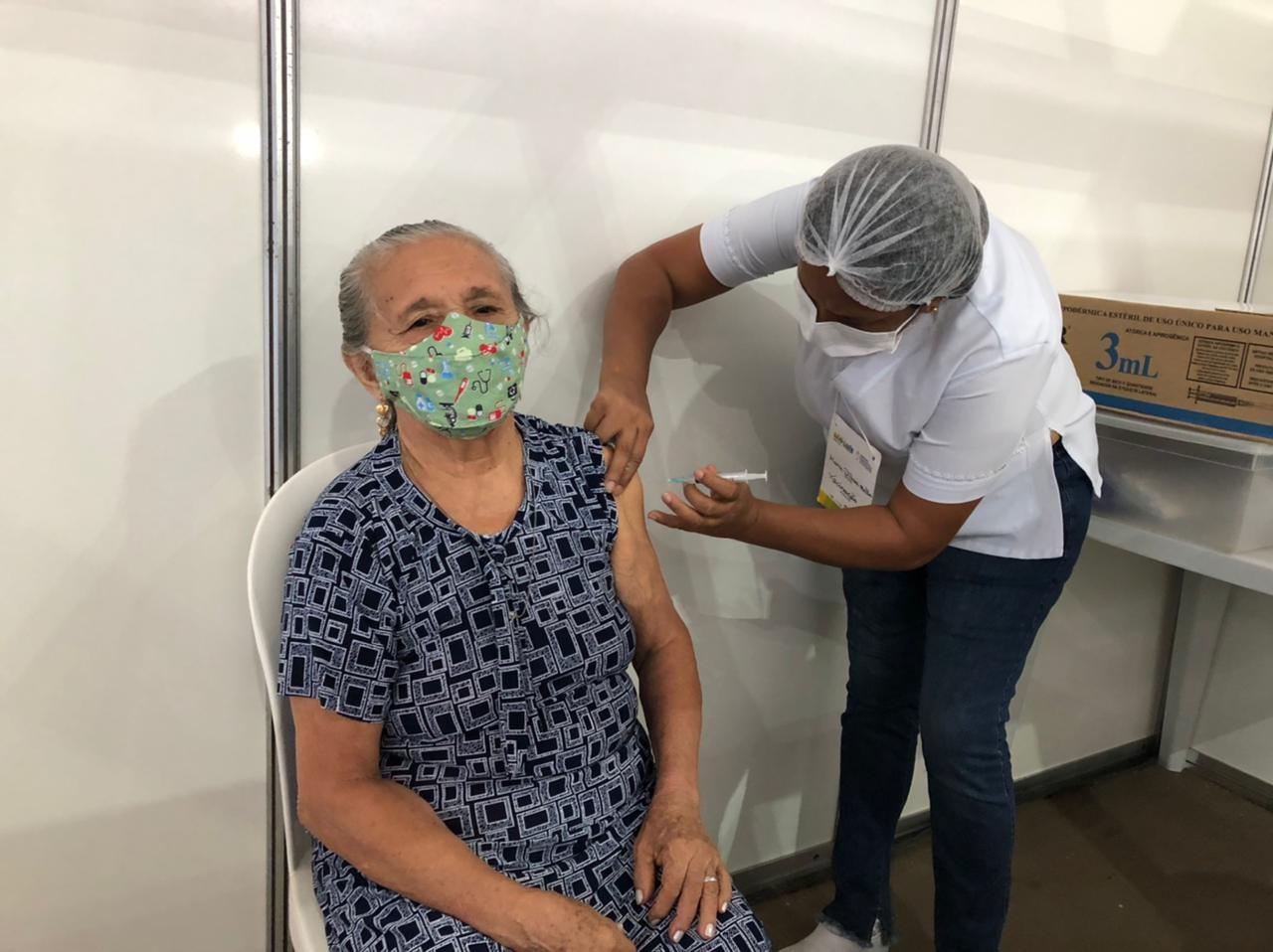 Covid-19: idosos entre 78 e 80 anos começam a ser vacinados nesta segunda-feira (1º) em São Luís