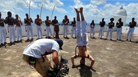 Chay Suede, Danilo Ferreira e Danilo Mesquita aprendem a jogar capoeira para 'Segundo Sol': 'Amor por essa cultura'
