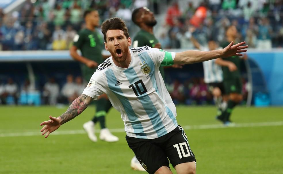 Messi volta à seleção argentina para a disputa de amistosos em março, diz  jornal   futebol argentino   ge