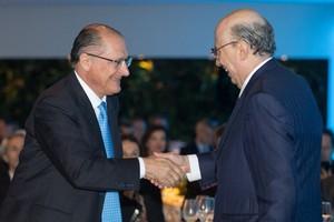 Geraldo Alckmin e Henrique Meirelles