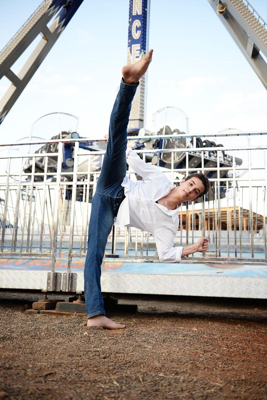 Leonardo é apaixonado pela dança desde os 3 anos e agora sonha com o Balé Bolshoi (Foto: Arquivo pessoal)