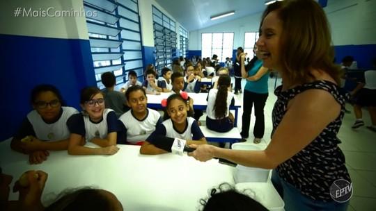 Escola Municipal de Campinas cria gincana para evitar desperdício