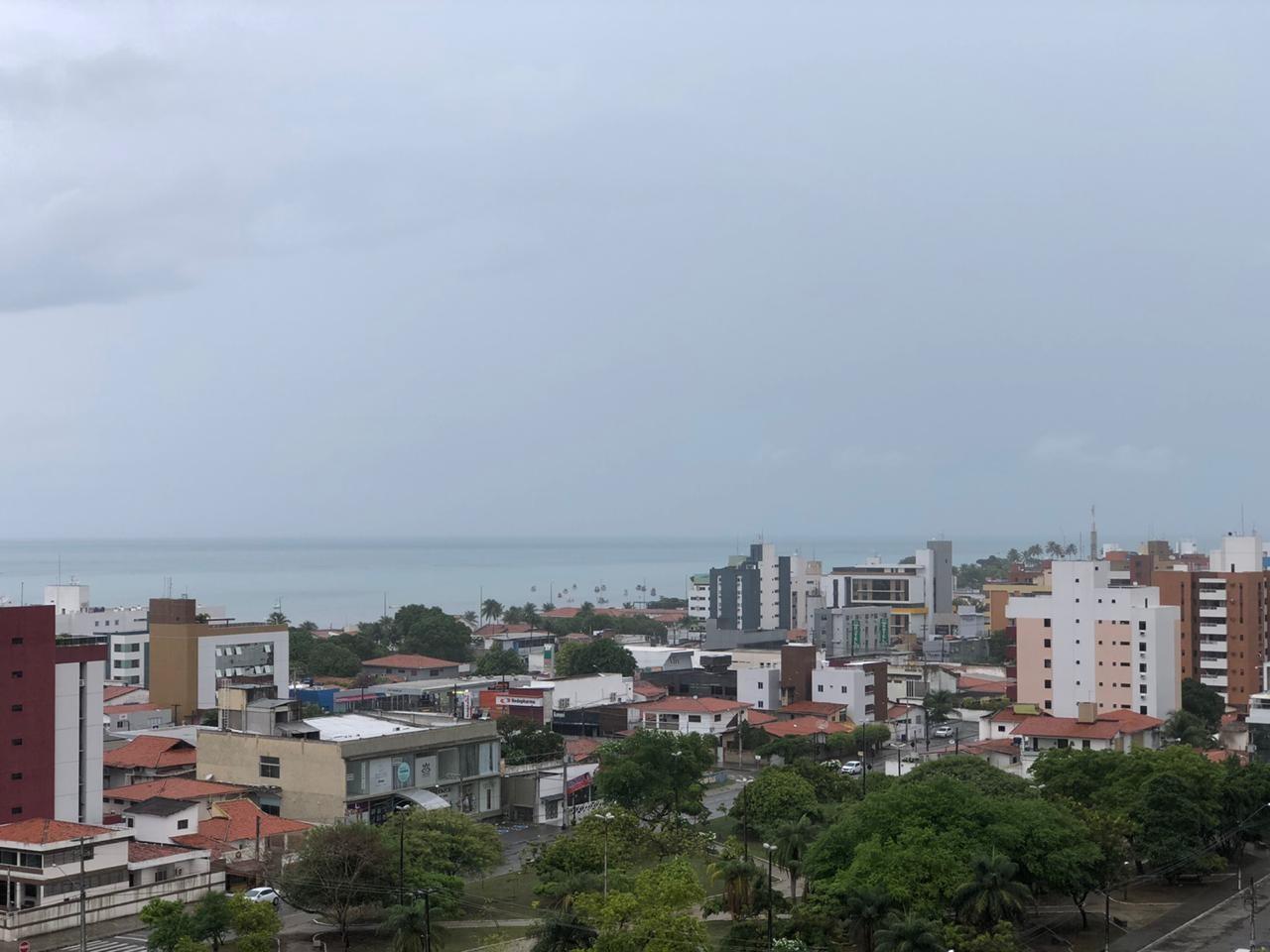 João Pessoa tem mais de 45 milímetros de chuva nas últimas 24  horas, diz Defesa Civil