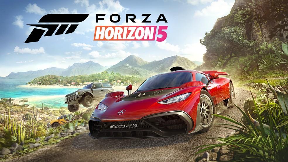 Forza Horizon 5 contará com a ferramenta seasons, que permite alterar o clima do jogo — Foto: Divulgação/Playground Games