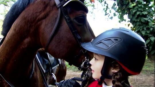 Do Boldrini ao hipismo: jovem supera anemia e ganha destaque no esporte